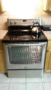 Maytag Stainless Steel Refrigerator and Maytag Convection Stove Regina Regina Area image 2