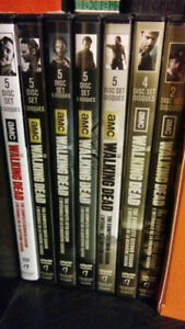 Walking dead seasons 1-7