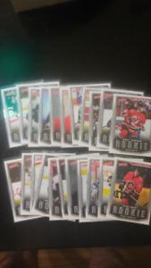 cartes hockey Upper-Deck Victory 2007-2008 (22 Recrues)