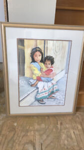 Water Color Painting by Local Saint John Artist, Mary K Cormier