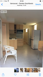 Large new two bedrooms basement suite in Dunbar to rent