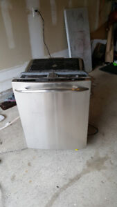 GE PROFILE DISHWASHER STAINLESS STEEL