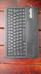 Leather Bluetooth tablet keyboard
