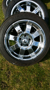 """17"""" tires and rims"""