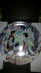 Disney collector plate Snow White
