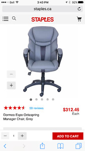 Office chair, brand new in box
