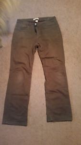 Size 10 womans lined pants