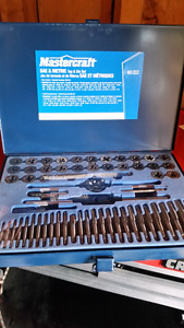Mastercraft tap and die set 60 pce