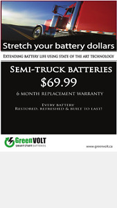Commercial Truck Batteries for Sale