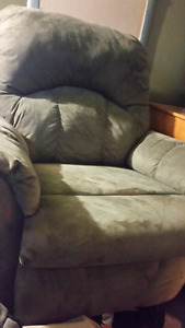 Grey living room Recliner for sale