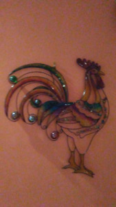 Ornament - Colorful wall decoration - make a cash offer