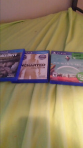 Call of duty ww2 uncharted collection and no man's sky