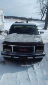 91 GMC Chevy parts truck