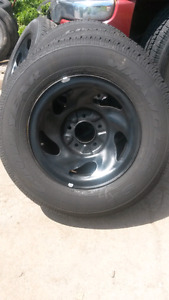 F 150 rims and tires fresh mount and balanced