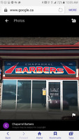 Looking for an Experienced Barber for a community Barber Shop!