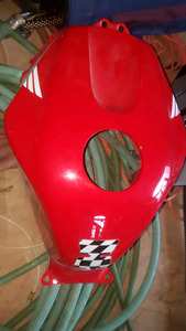 Gas tank cover body work for 600 03-08