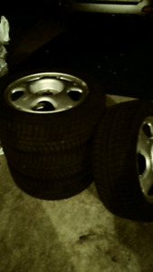 Four(4) Michelin X-ice Winter Tires with Rims