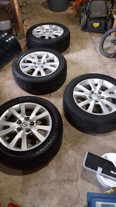 205/55R16 tires and rims off a 2008 mazda 3