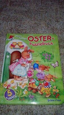 Puzzlebuch Ostern für kleine Kinder die gerne Puzzlen