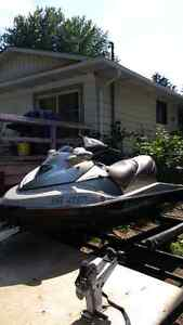 2003 seadoo gtx limited with a new motor