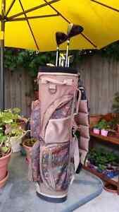 Wilson Ladies Golf Clubs and Floral Pattern Bag Stratford Kitchener Area image 4