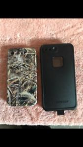 iPhone 6&6s 7Plus LIFEPROOF Case black 50$