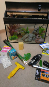 20g fish tank with all accessories