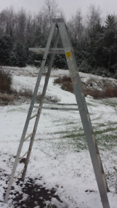 8 FOOT ALUMINUM LADDERS FOR SALE