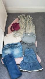 Girls bundle clothes 6/7 Next , TU , Gap , Trousers 7/8 age
