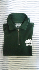 Green roots sweater size M