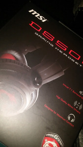 MSI GAMING CASQUE DS502 7.1 SURROUND