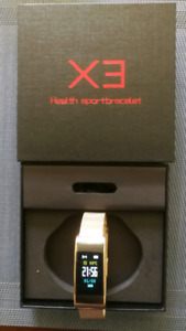 Fit Bit type watch with blood pressure monitor