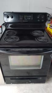 Black Oven Stove