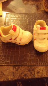 Girl and boy infant shoes sizes 4-7 $10 ea