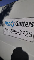 Fall Gutter Cleaning and Heat Tapes for gutters & down pipes