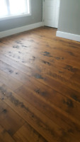 Flooring Installation and Custom Projects