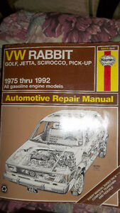 Haynes manual for VW Rabbit