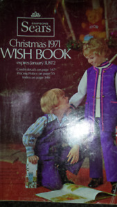 SEARS  WISH  BOOK  1971