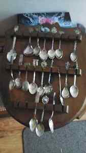Collectable spoons 508 of them