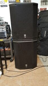 A pair of JBL PRX618XLF powered subwoofers  SOLD