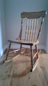Old Mid Size Rocking Chair