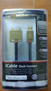 monster icable dock connect brand new