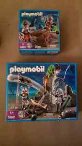 Playmobil Castle with 2 New sets knights