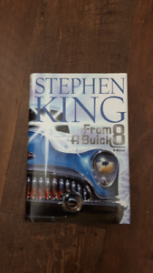 Stephen King book, From a Buick 8 5$. like new