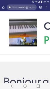 Piano orgue Yamaha