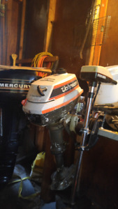 4hp Johnson Outboard Motor