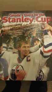 Canadas Quest for the Stanley Cup book - Brand New!!