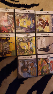 Nintendo Ds with 13 games  $80.00