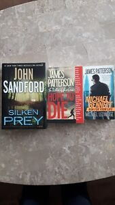 Set of 3 suspense  books!! ONLY $10!!