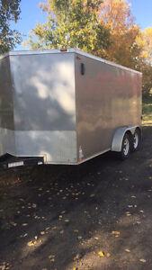 14 ft dual axel utility , cargo trailer